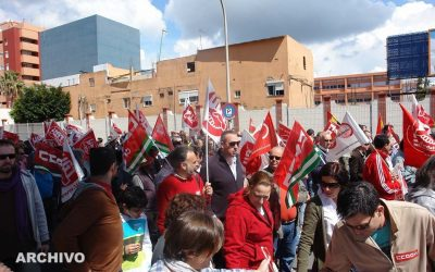 Ruiz Boix se suma a todas las reivindicaciones por la mejora laboral del Uno de Mayo