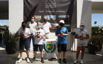 La Cañada exhibe su poderío en los Circuitos Benjamín y Juvenil de Andalucía celebrados en Villa Nueva Golf y Guadalhorce