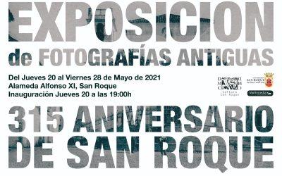 """Este jueves, inauguración en la Alameda de la exposición fotográfica """"315 Aniversario de San Roque"""""""