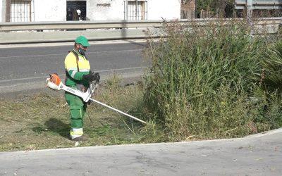 """Prosigue por otras zonas de la Estación la campaña """"Cuida San Roque, es tuya"""""""