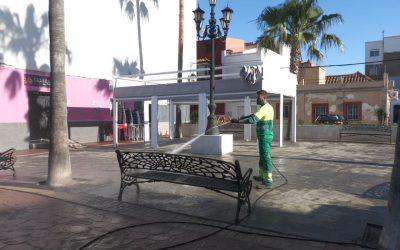 """La campaña """"Cuida San Roque, es tuya"""" continúa hoy miércoles por otras zonas de Puente"""