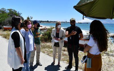 """Alexis Morante rueda en La Colonia escenas de su próxima película, """"El universo de Óliver"""""""