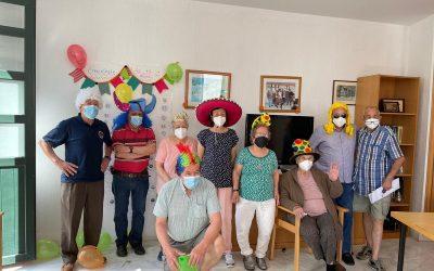 Taller de emociones para las personas mayores usuarias de las viviendas tuteladas