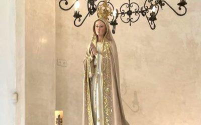San Enrique celebra el día de su patrona, la Virgen de Fátima, con una misa en la parroquia