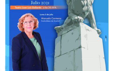 Manuela Carmena inaugurará el lunes los Encuentros de Verano de la UCA en San Roque