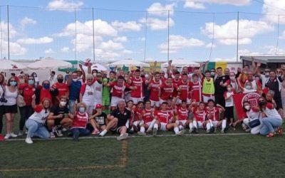 Los equipos de fútbol base de San Roque finalizan la temporada a lo grande