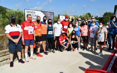 Inaugurada la Senda Peatonal Ribera del Guadarranque con una caminata popular