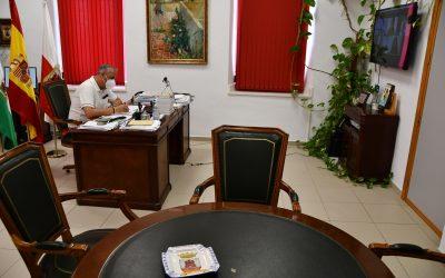 El alcalde participa en una jornada para el Diagnóstico de la comarca