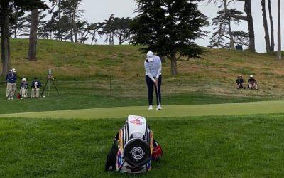 María Parra brilla en el US Women's Open de golf