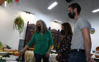 Visita a la exposición de cerámica de Cristina García Rojas en la galería Nueva 63