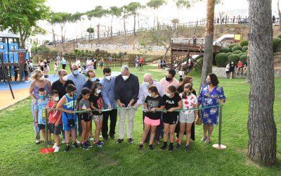 """Inaugurado el parque """"Alcaldesa María Domínguez"""", en la zona de la Ermita"""