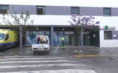 La desinfección en la entrada a los centros de salud básica para el plan especial de limpieza