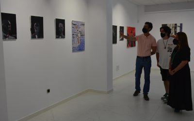 Inaugurada la primera exposición del joven algecireño Adam Repolet