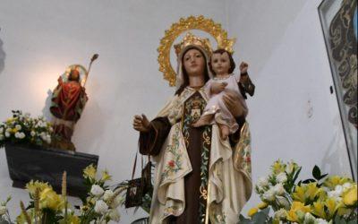 Fervor por la Virgen del Carmen, con actos en los templos