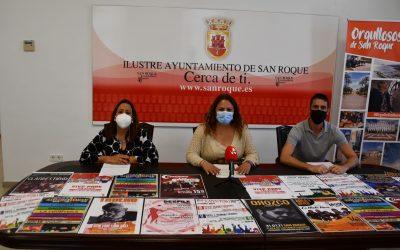 Conciertos, atracciones y actividades, en el verano de San Roque