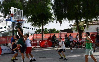 Buena participación en el torneo de baloncesto 3×3 en San Enrique