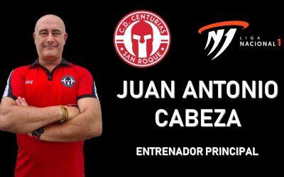 Juan Antonio Cabeza será el entrenador principal del CD Centurias en Primera Nacional