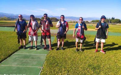 El sanroqueño Carlos Torres, primero en la previa al campeonato de Andalucía de foso olímpico