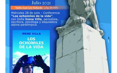 Irene Villa, broche de oro de los Encuentros de Verano de la UCA en San Roque