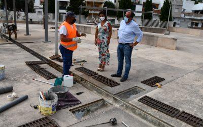 """Trabajos de impermeabilización en la cubierta del Mercado """"Diego Ponce"""""""