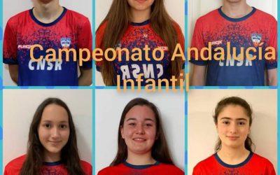 El Club Natación San Roque concluye el curso participando en el Campeonato de Andalucía Infantil de Verano