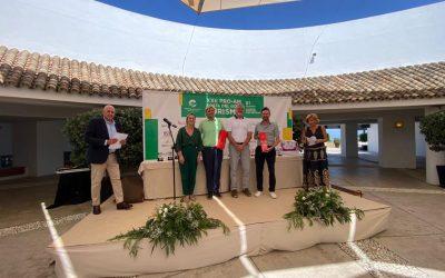 Representación municipal en la entrega de premios del XXII Pro Am Costa del Golf Turismo