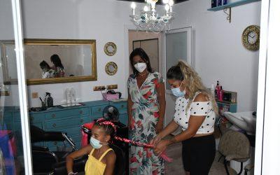 La peluquería Julia Cuenca se instala en el mercado Diego Ponce