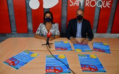 Autobuses gratuitos hacia las playas de San Roque