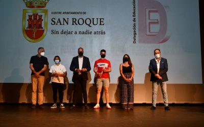 Homenaje a los 53 alumnos sanroqueños de Bachillerato y FP que han logrado la Excelencia Académica