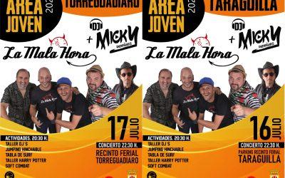 Disponibles las invitaciones para las Áreas Joven de Taraguilla y Torreguadiaro