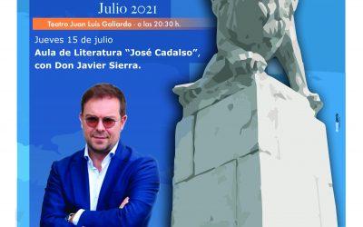 El escritor Javier Sierra, protagonista del tercer Encuentro de Verano