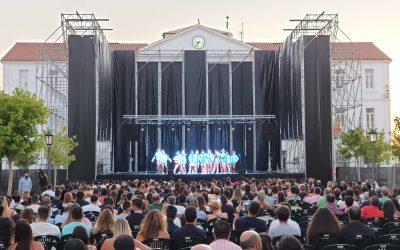 Magnífica noche carnavalesca, ayer en el segundo gran concierto del verano
