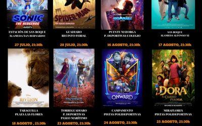 Mañana, martes, continúa el Cine de verano en Guadiaro