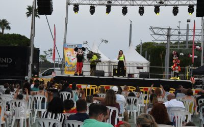Lleno absoluto en el espectáculo infantil en Guadiaro