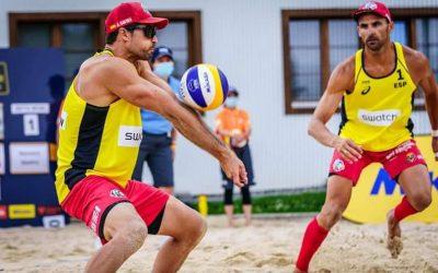 Herrera y Gavira caen en la segunda ronda del circuito mundial de voley playa, en Suiza