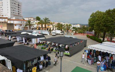La delegación de mercados anuncia que no habrá mercadillo en San Roque casco hasta el 22 de agosto.