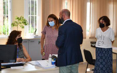 Bienvenida a trabajadores incorporados a Urbanismo y Asuntos Sociales por el plan de empleo de Diputación