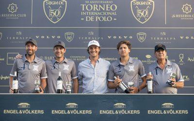 Ayala y Marqués De Riscal logran el billete para la final de la Copa de Oro 50 Aniversario de Alto Hándicap
