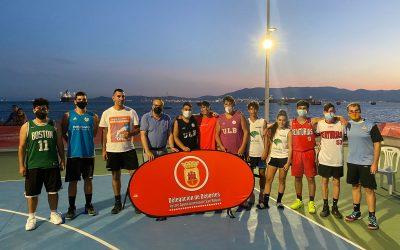 Celebrado un torneo de baloncesto 3×3, dentro de las actividades deportivas al aire libre de Deportes