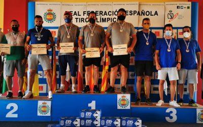 El equipo gaditano de foso olímpico logra con el sanroqueño Carlos Torres el subcampeonato de Andalucía