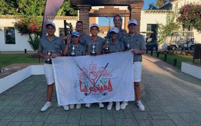 La Escuela Municipal de Golf La Cañada se hizo con el subcampeonato de España Interclubes Infantil