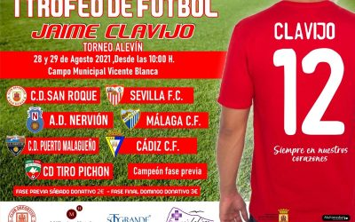 I TROFEO JAIME CLAVIJO FINAL Y PREMIOS 29 AGOSTO 2021