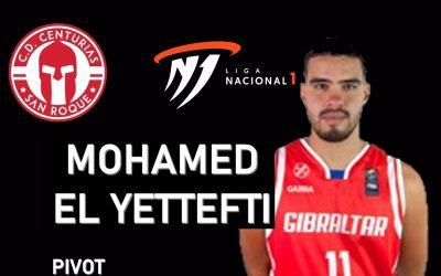 Mohamed El Yettefti, cuarto fichaje del CD Centurias de Primera Nacional