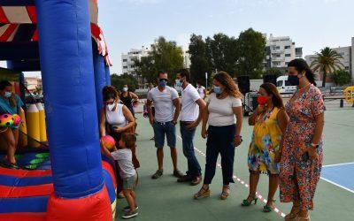 Una animada Fiesta Infantil de la Bahía pone punto y final a las actividades de Fiestas y Juventud este verano