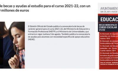 Ordóñez aplaude al Gobierno por incrementar la partida de becas y recuerda que el Ayuntamiento también lo ha hecho