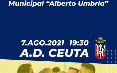 Amistoso entre el Sámber y el Ceuta, mañana en el Alberto Umbría
