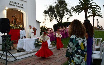 Celebrada la misa de bienvenida al Patrón San Roque tras su restauración