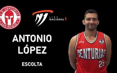 Antonio López, quinto fichaje del CD Centurias de Primera Nacional