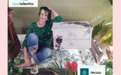 Carmen Lozano, monitora de la UP, gana el concurso de Canal Decasa en la categoría de Muebles