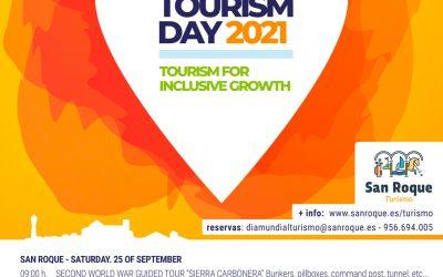El Día Mundial del Turismo se celebra este fin de semana en San Roque con actividades gratuitas